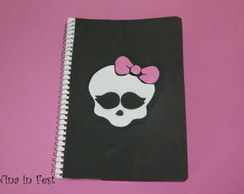 Caderno Peq Monster High EVA