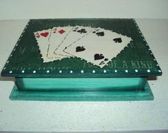Caixa de baralho-Verde