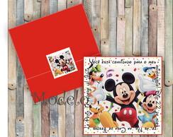 Convite Mickey Festa
