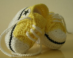 All Star Converse amarelo original
