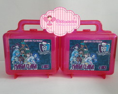 Maleta Acr�lico Monster High 3