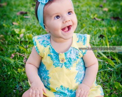 Faixa Baby Flor Tafet�