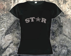 Camiseta Baby Look Star