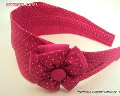 tiara faixa PINK