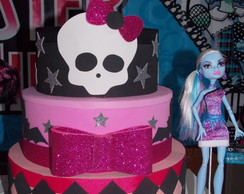 Bolo EVA Monster High