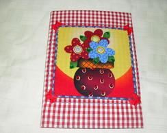 Caderno Decorado - Florais