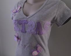 Camiseta Baby Look - Personalizada