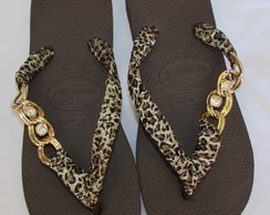 Havaiana TOP Customizada com Brid�o