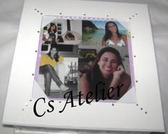Caixa quadrada porta retrato - 4CEB2