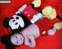 Conjunto roupa Mickey