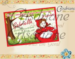 Convite Chap�uzinho Vermelho 2