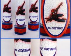 Tubete Personalizado Homem Aranha