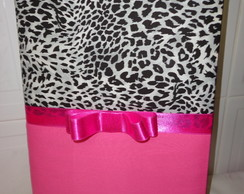 Caderno on�a pink