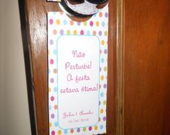 Tag de porta / aviso de porta