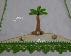 Pano de prato coqueiro