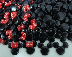 Mini Aplique Mickey ou Minnie