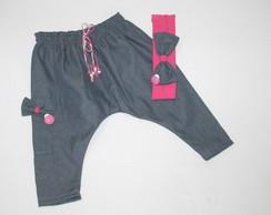Cal�a Saruel Jeans COM JOANINHA