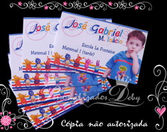 Kit Etiqueta Escolar BACKYARDIGANS