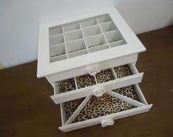 Porta bijoux C�moda com 3 gavetas