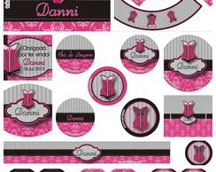Kit Festa Corset Pink (5 Artes)