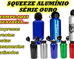 Squeeze de Alum�nio - Personalizado