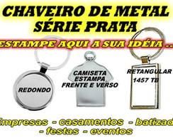 CHAVEIRO METAL PERSONALIZADO
