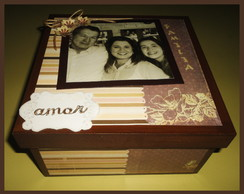 Caixa Fam�lia (Scrap Decor)
