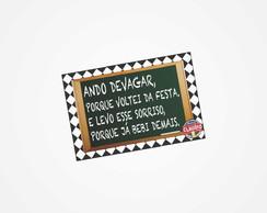 Placa Festa Boteco 03 - Engra�adas