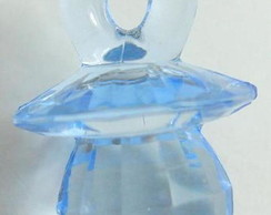 Lembrancinha chaveiro chupetinha azul