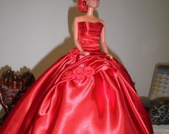 vestido para bonecas