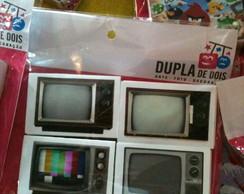 Caixa de F�sforo TV Antiga