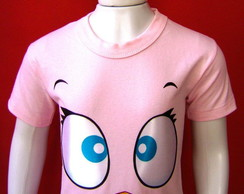 Camiseta Infantil Pink Bird