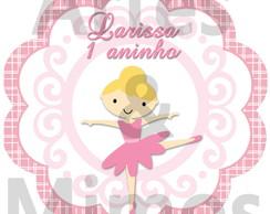 Adesivo Latinha Bailarina