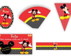 Kit Festa Digital Mickey