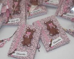 Bloquinhos Personalizados Ursinhas