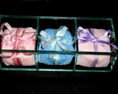Lembran�a Caixa de vidro com bem-nascido