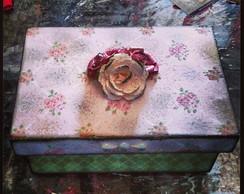 Caixa 3 flores