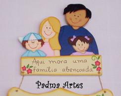 Placa N�mero de Casa Fam�lia
