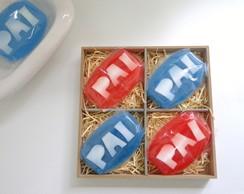 Caixa de Sabonetes DIA dos PAIS
