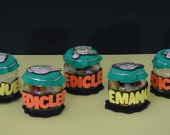 Mini potinhos  da Turma do Chaves