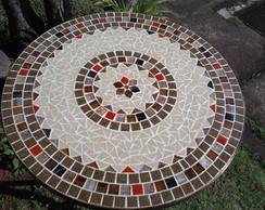 Mesa em Ferro e Mosaico Dubai