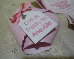 Convite personalizado Ch� de Fraldas