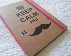 Caderno anotacoes - Keep Calm
