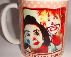Caneca Ceramica Amigos