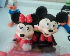 topo de bolo do mickey e minie