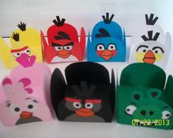 Forminha de doce Angry Birds