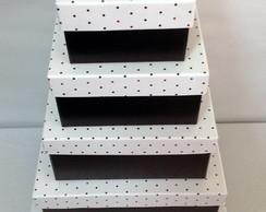 Caixa para presente-kit com 5 tamanhos