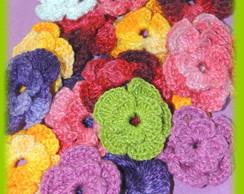 Flores em Croch�