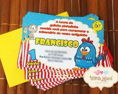 Convite Galinha Pintadinha 3