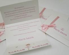Convites Bailarina Sanfonado